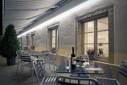 Restaurant Sternen Terasse im Sommer