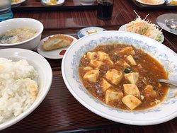 麻婆豆腐ランチ¥650(税別)