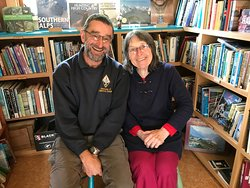 Ruth with John from the Ass. of Lighthouse Keepers, UK.