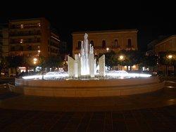 la fontana in piazza