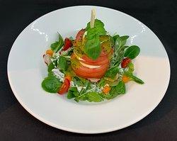 Tomato und Mozzarella Salat