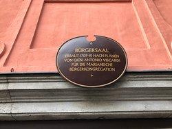 Burgersaalkirche - sign