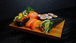Salmon symphony with the right flavour combinations.