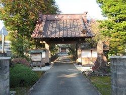 香林寺への入り口。