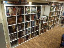 an ever growing library of games to play