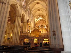 fotos de la catedral de toledo.