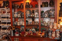 Handmade pottery and pewter
