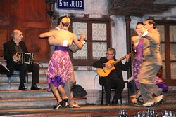 Spectacle Tango Buenos Aires Aljibe