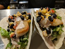 #TacoTuesday ! Cast Ironed Cod Fish Tacos #AGAVEkitchen