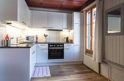 Ula's Holiday Apartments Interlaken - Beatenberg One Bedroom Apartment Kitchen