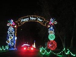 Fantasy of Lights Christmas Display 2019, Vasona Lake County Park, Los Gatos, CA