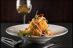 Shrimp & Chicken Lo Mein Noodle