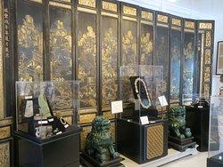 Impressive relics, some on loan.