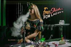 Free Shisha for ladies everyday.