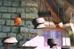 Hanging pots!