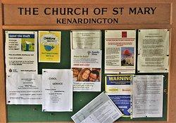 1.  St Mary's Church, Kenardington, Kent