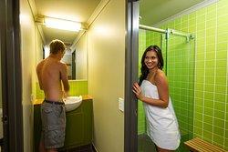 En-suite bathrooms in every room type.