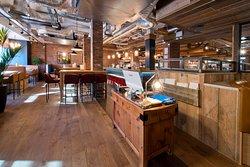 Bar & Block interior
