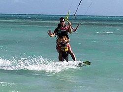 Pêche, plage et Kitesurf