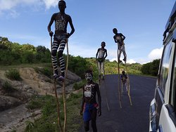Bena tribe kids playing on sticks! BENA is one of the most beautiful tribes of Omo valley!