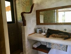 Each room has a private bathroom, beach and bath towels are included