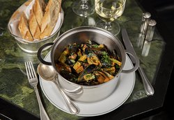 Moules au Riesling - The Delaunay