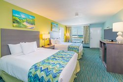 Gulf View Room with Two Beds