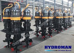 Hydroman™( A Tobee Brand) 6 inch Submersible Slurry Pump for slurries