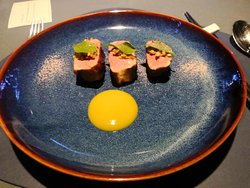 My favourite dish from the tasting menu!