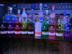 Just a small selection of our gins