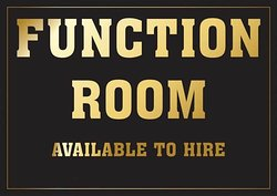Room hire available