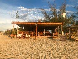 Restaurant from the beach