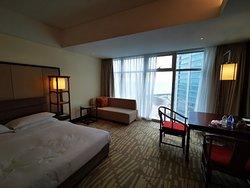 Gorgeous hotel right next to the Yellow Sea