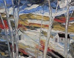 ''Up North daytime'' - 16'' x 20'' by Richard Riverin
