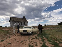 It's cool coming to Bonanza Creek Ranch, but even better when a movie is filming!