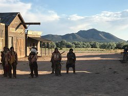 It's cool coming to Bonanza Creek Ranch, even better when a movie is filming!