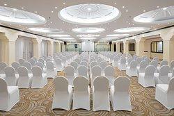 Al Malaz ballroom with theater style setup