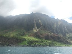 The Cathedrals Na Pali Coast...beutiful...