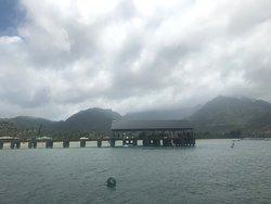 Hanalei Pier...departure point...before transfer...