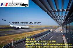 Paris Airport transfers to Charles de Gaulle (CDG), Orly (ORY) and Beauvais (BVA). Transfer by Paris taxi,  airport shuttle etc. @ https://www.parisprivatecab.com/