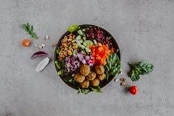 Great range of salads