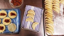 Hand made Empanadas
