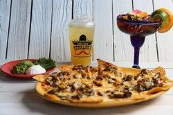 Nachos & perfect margarita