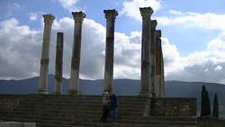 Fantastic Roman ruins in Volubilis