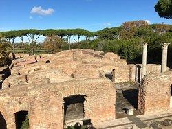 Ostia Antica from overlook