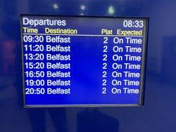 trens para Belfast