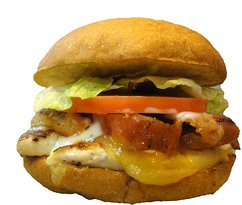 CHICKEN CLUB WITH CHEESE