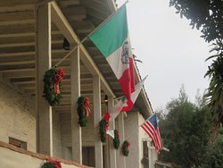 Old Mission San Jose at Christmas Time, Fremont, CA