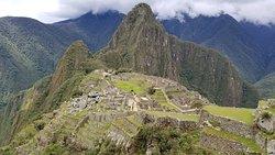 Machu Picchu from its upper area.