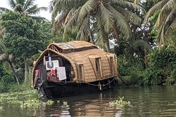 Houseboat sur les backwaters du Kerala
